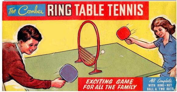 Кольцевой настольный теннис