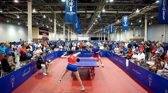 Пинг-понг (ping-pong) турнир в США