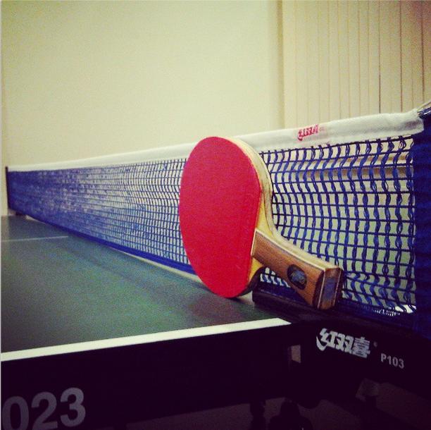 Правила настольного тенниса. Как установить сетку
