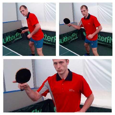 Уроки настольного тенниса. Накат справа