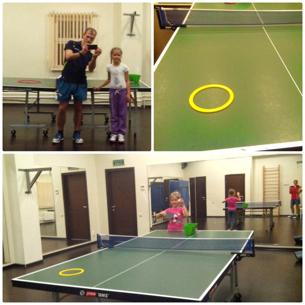 План тренировки детей в настольном теннисе